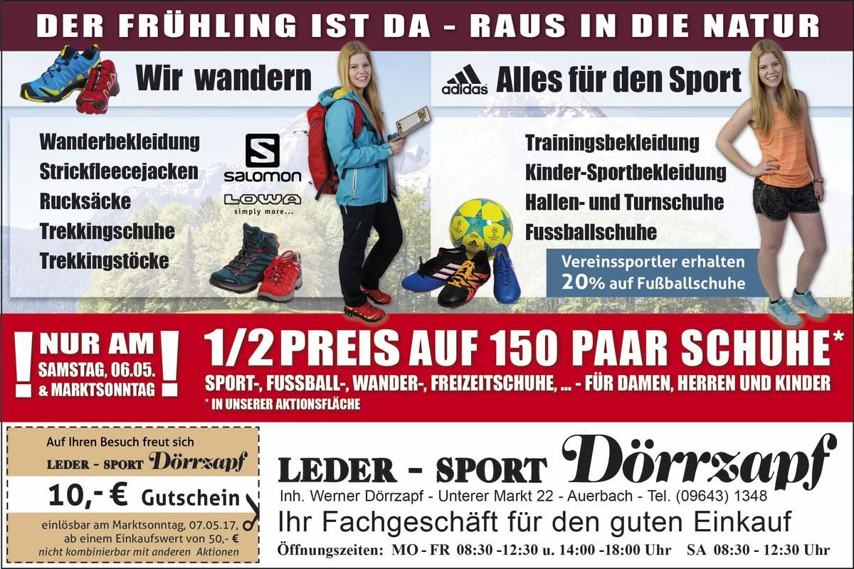 Leder Sport Dörrzapf Marktsonntag